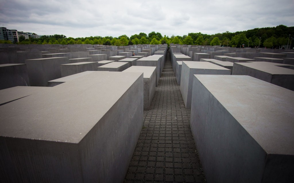 Memorial to the Murdered Jews of Europe, Berlin, Germany on northtosouth.us