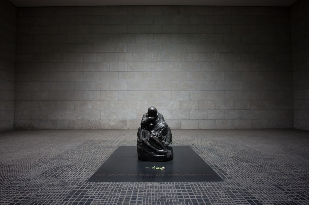 Neue Wache War Memorial, Berlin, Germany on northtosouth.us