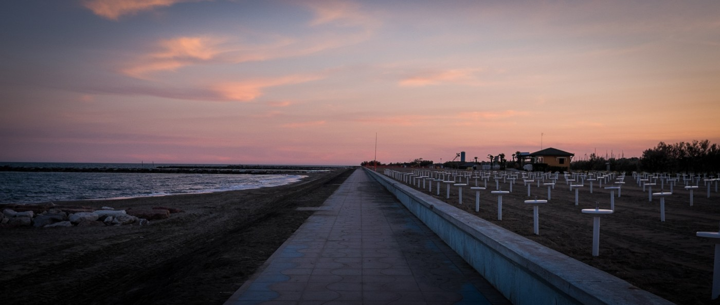 Eraclea Mare beach, Eraclea Mare, Italy