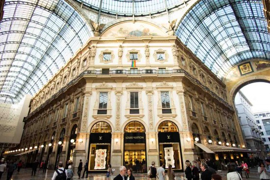 Galleria Vittorio Emanuele II in Milan, Italy on northtosouth.us