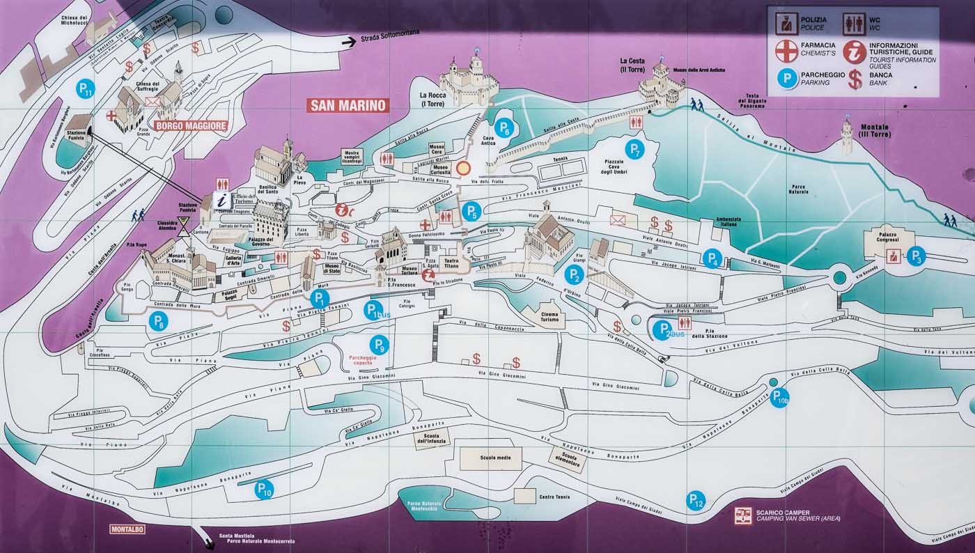 how to get to san marino