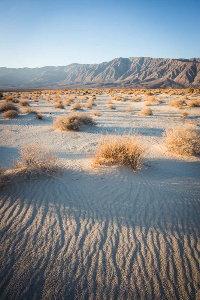 anza borrego desert state park california usa on