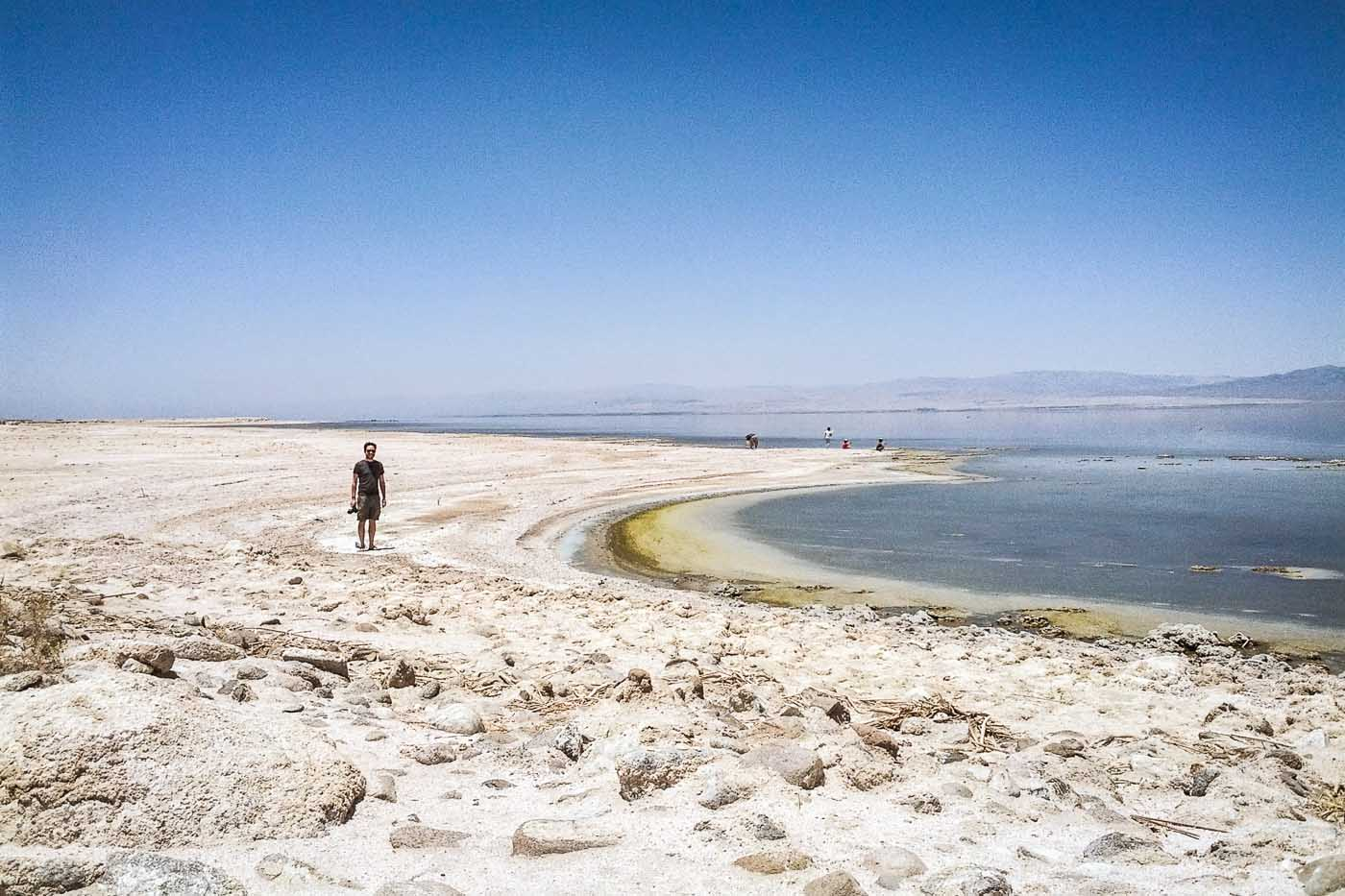 Salton sea california usa north to south for Salton sea fishing