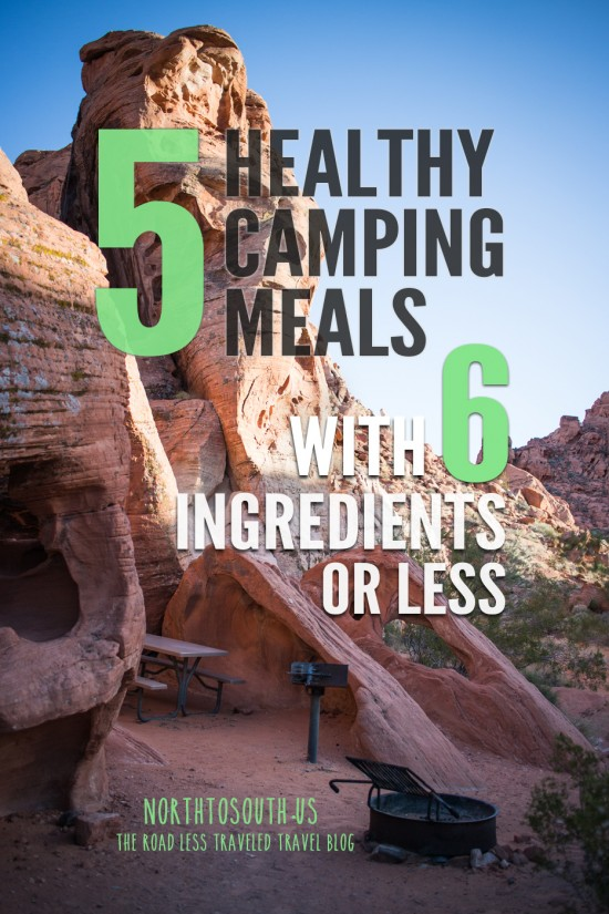 5 Healthy Camping Meals with 6 Ingredients or Less on northtosouth.us