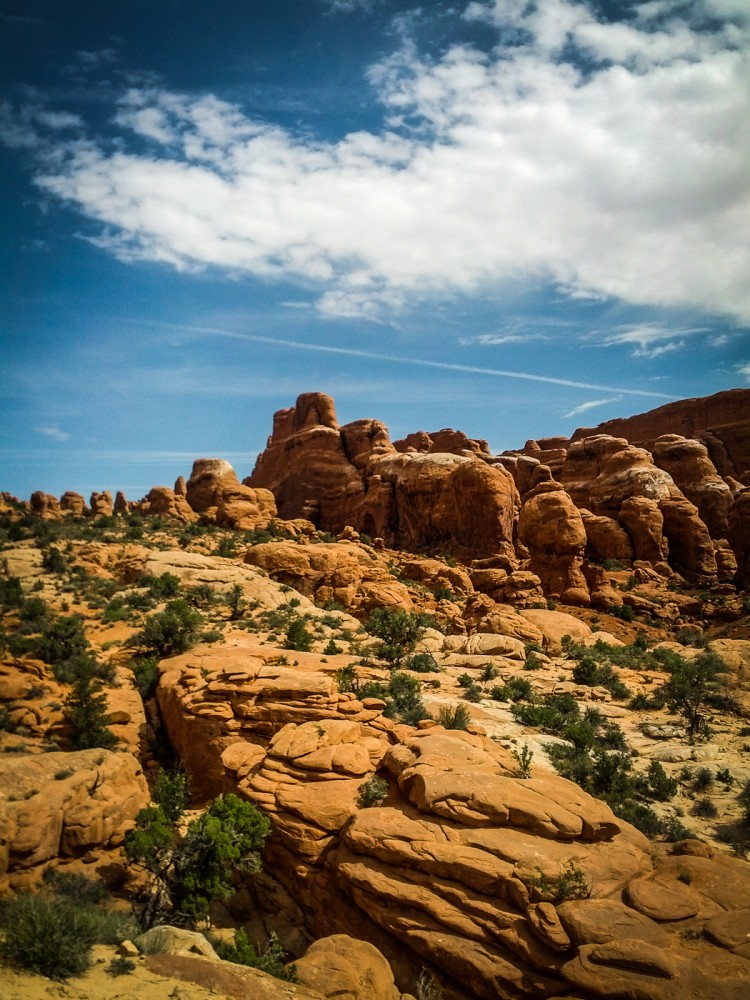 Fiery Furnace, Arches National Park, Utah, USA on northtosouth.us
