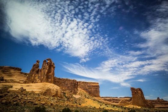 Arches National Park, Utah, USA on northtosouth.us