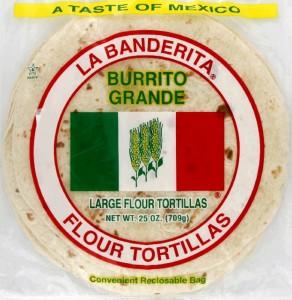 burrito tortilla