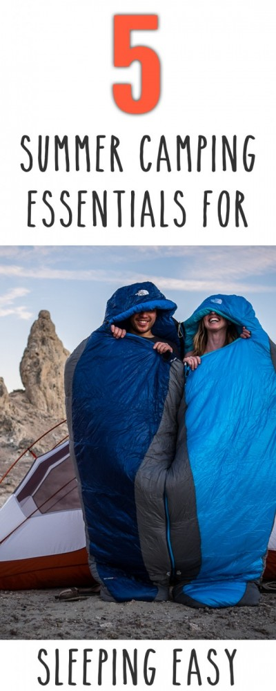 5 Summer Camping Essentials for Sleeping Easy on northtosouth.us