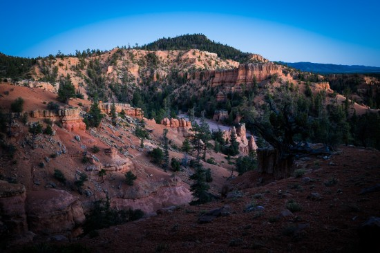 Hiking Arches Trail at Red Canyon, Dixie National Forest, Utah on northtosouth.us