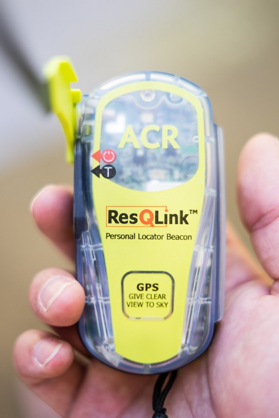 ACR ResQLink Personal Locator Beacon on northtosouth.us