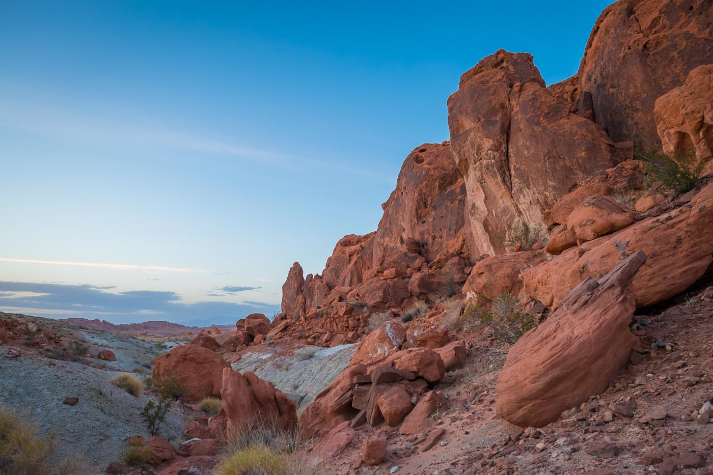 Valley Of Fire State Park Nevada Usa North To South