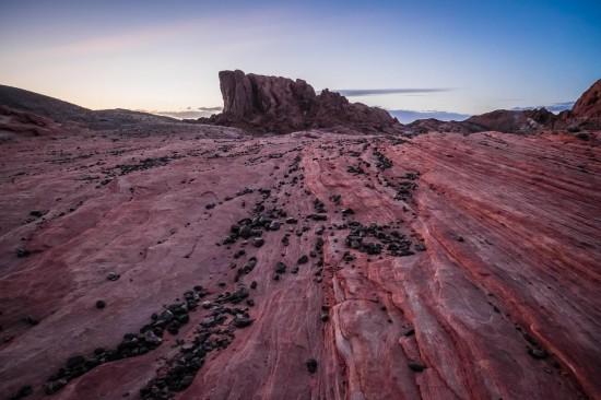 Fire Wave Trail at Valley of Fire State Park, Nevada, USA on northtosouth.us