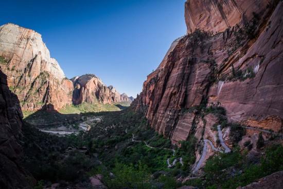 Zion Canyon, Zion National Park, Utah, USA on northtosouth.us
