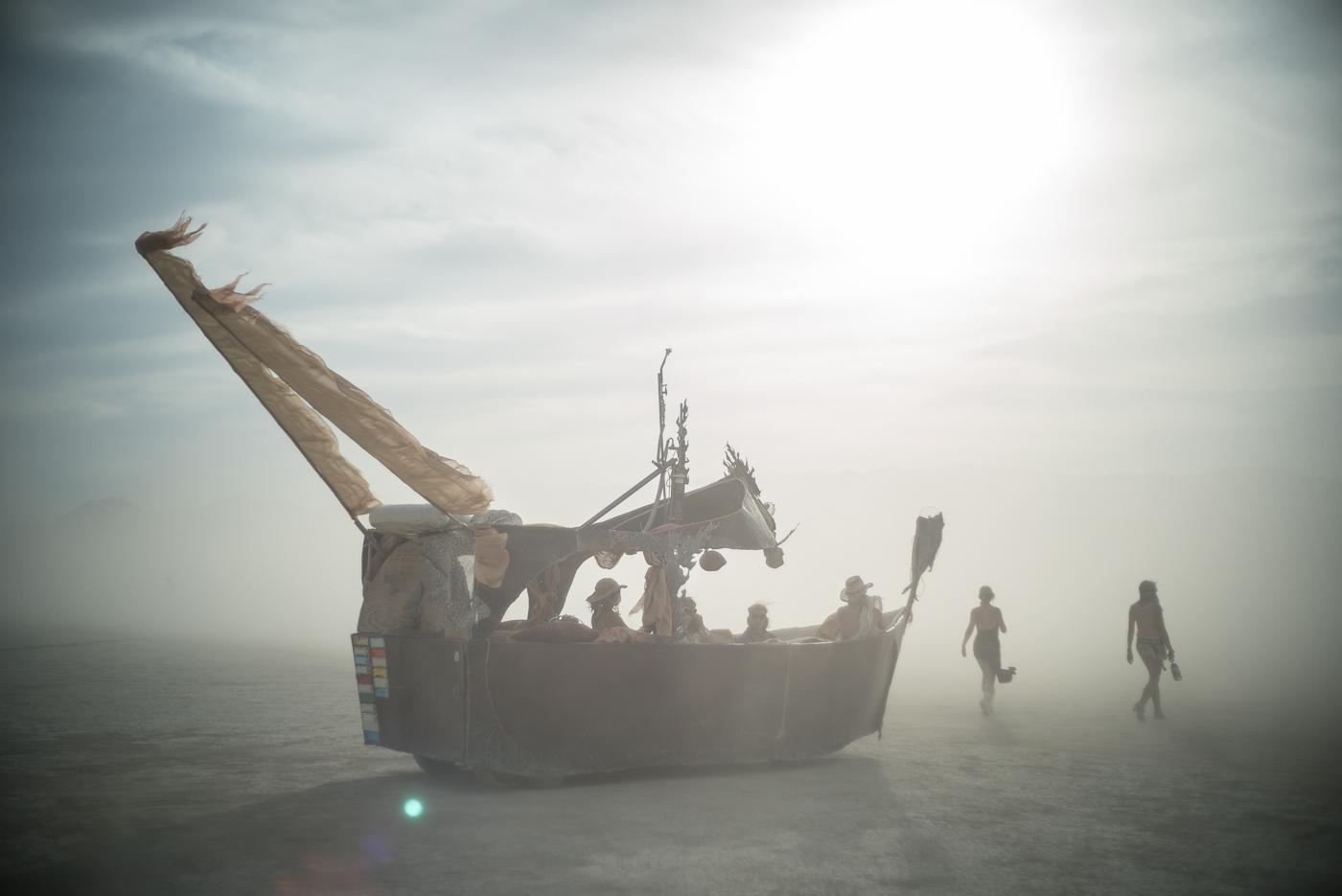 Dusty Ship, Burning Man 2014: In Dust We Trust - Photos of a Dusty Playa