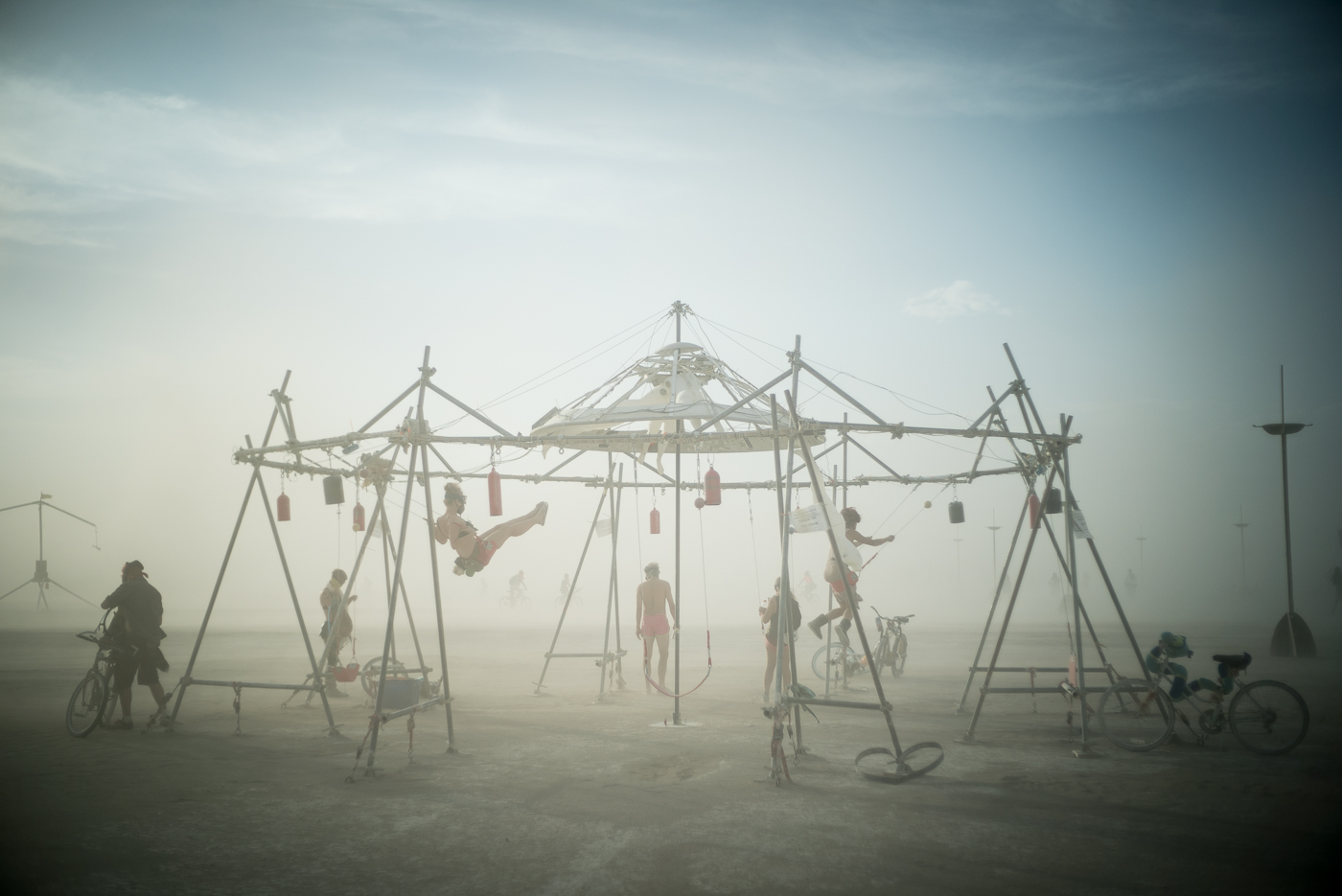 Musical Swingset, Burning Man 2014: In Dust We Trust - Photos of a Dusty Playa