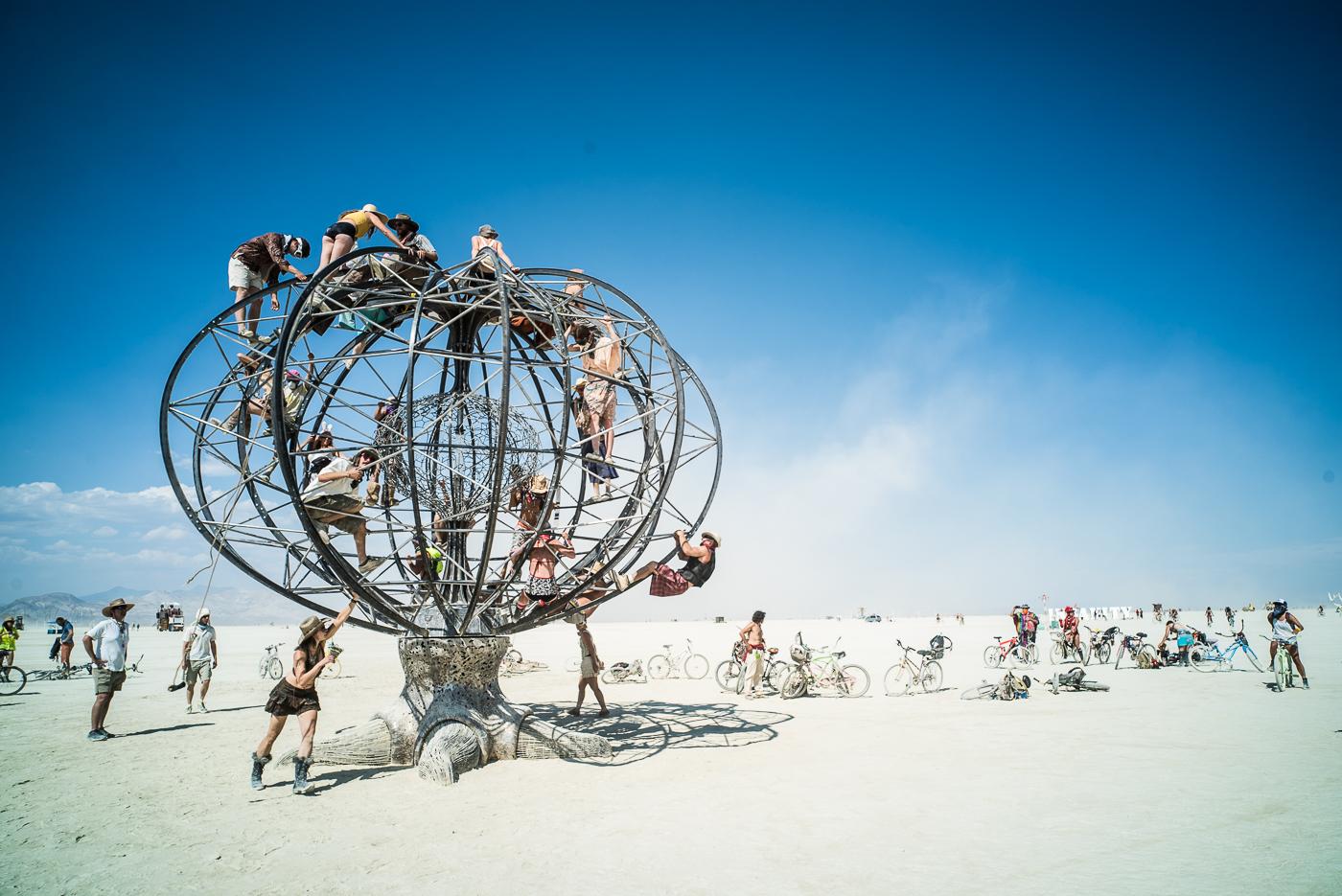 Dusty Art, Burning Man 2014: In Dust We Trust - Photos of a Dusty Playa