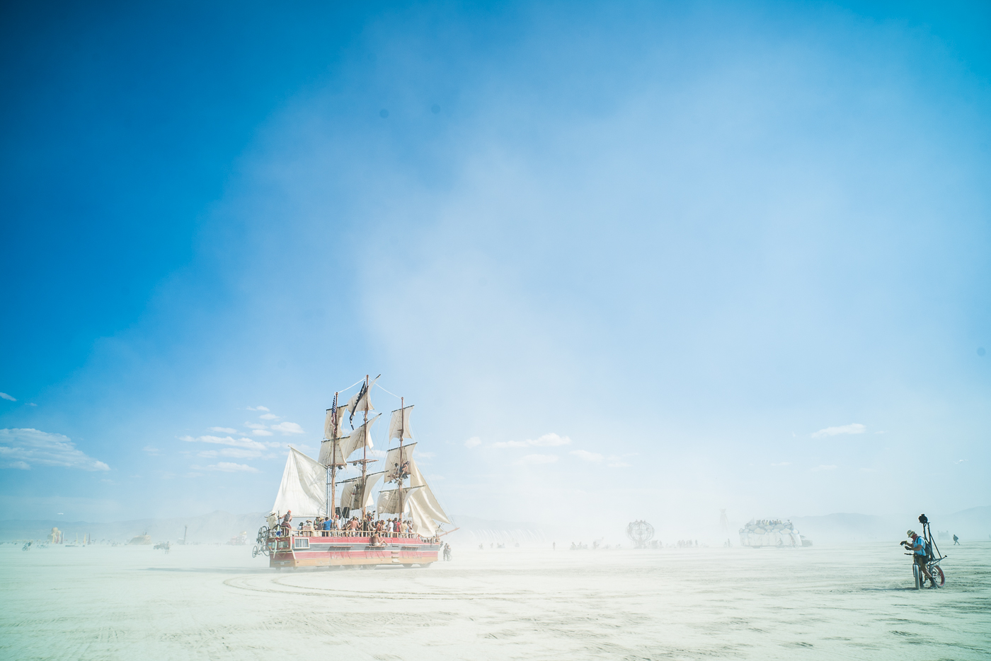 Sailing Ship, Burning Man 2014: In Dust We Trust - Photos of a Dusty Playa