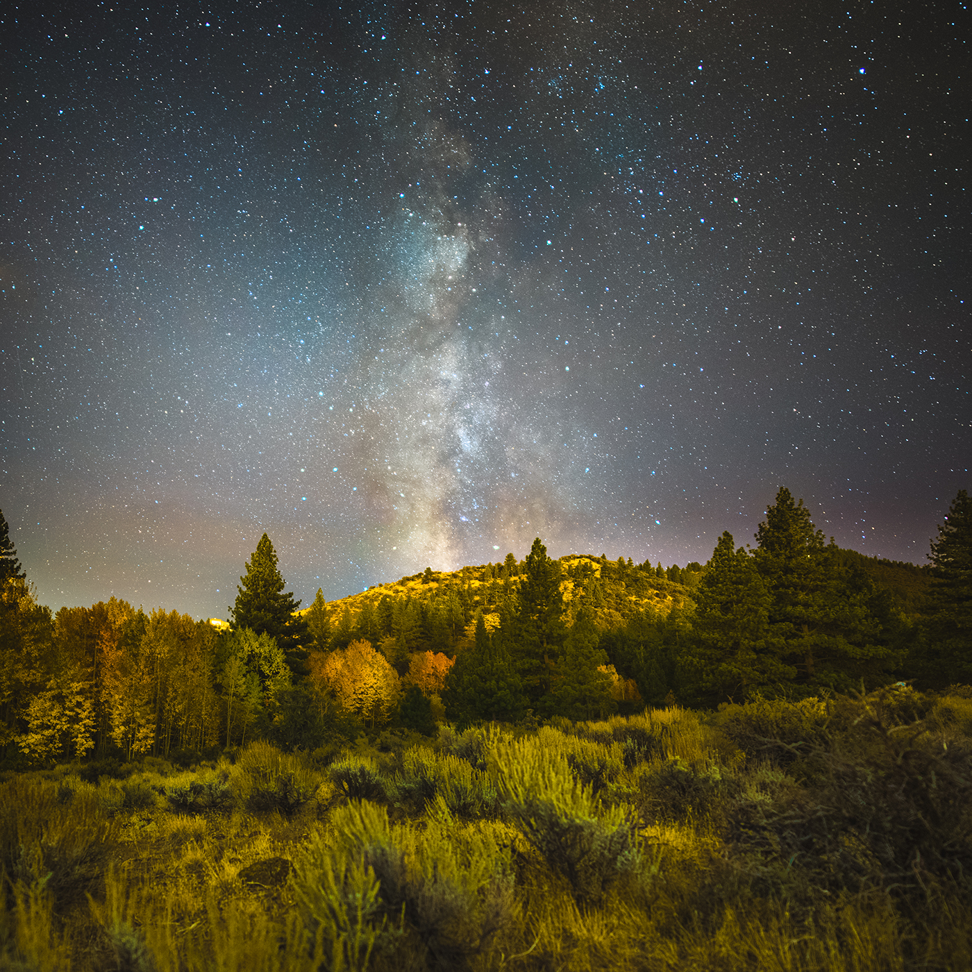 Shot of the Week: Reno Milky Way by Ian Norman on northtosouth.us