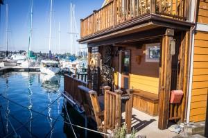 Float Homes at Fisherman's Wharf, Victoria, BC