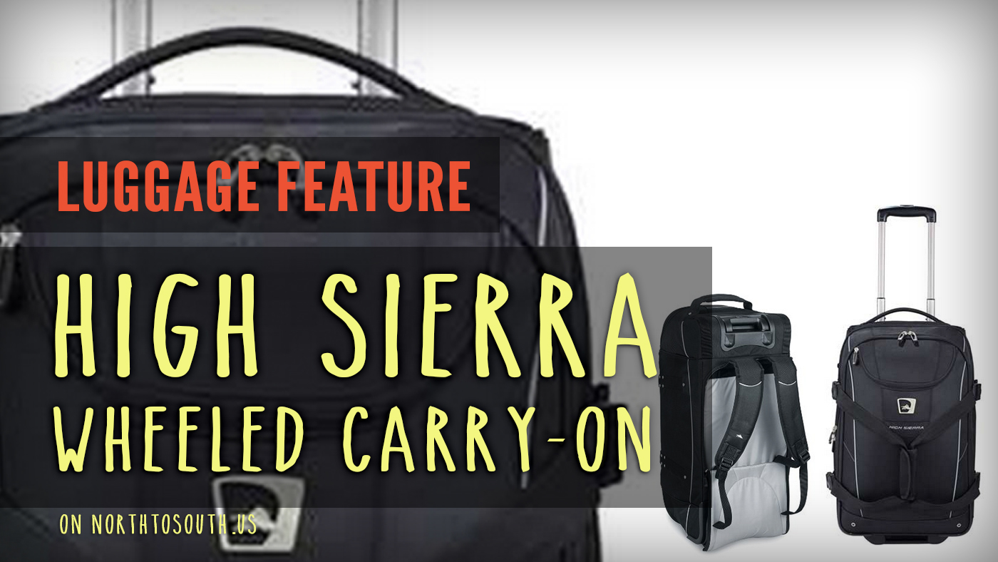 High Sierra Wheeled Carry-On on northtosouth.us