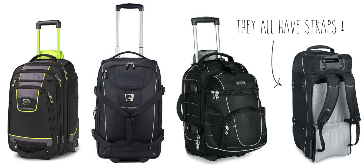 High Sierra Wheeled Carry-On Lineup