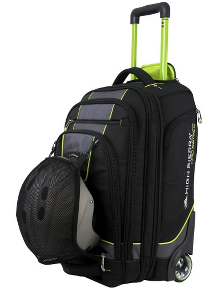 High Sierra Wheeled Carry-On Boot Bag with Helmet