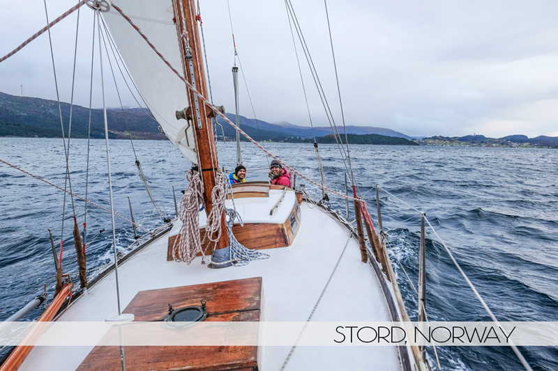 Ian and Diana go sailing in Norway