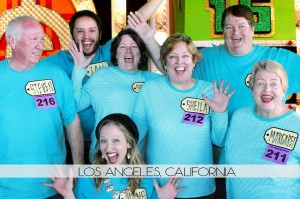 The Price is Right with Diana's Family
