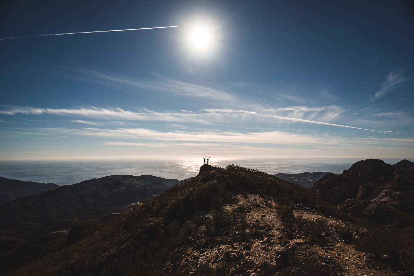 Shot of the Week: View from the Top (Sandstone Peak, Santa Monica Mountains, Malibu, California, USA)