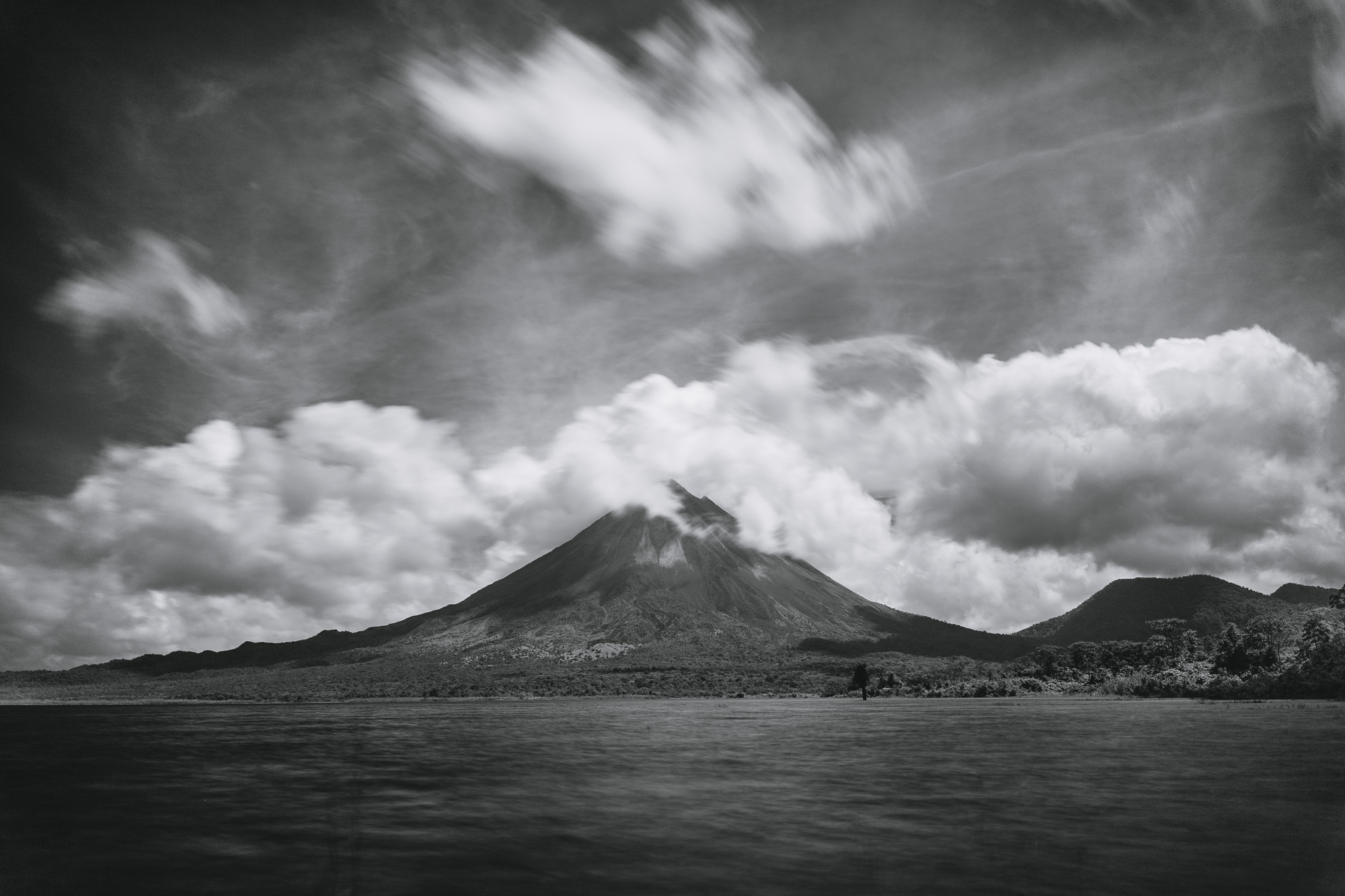 Shot of the Week: The Sleeping Giant -- Arenal Volcano, Costa Rica