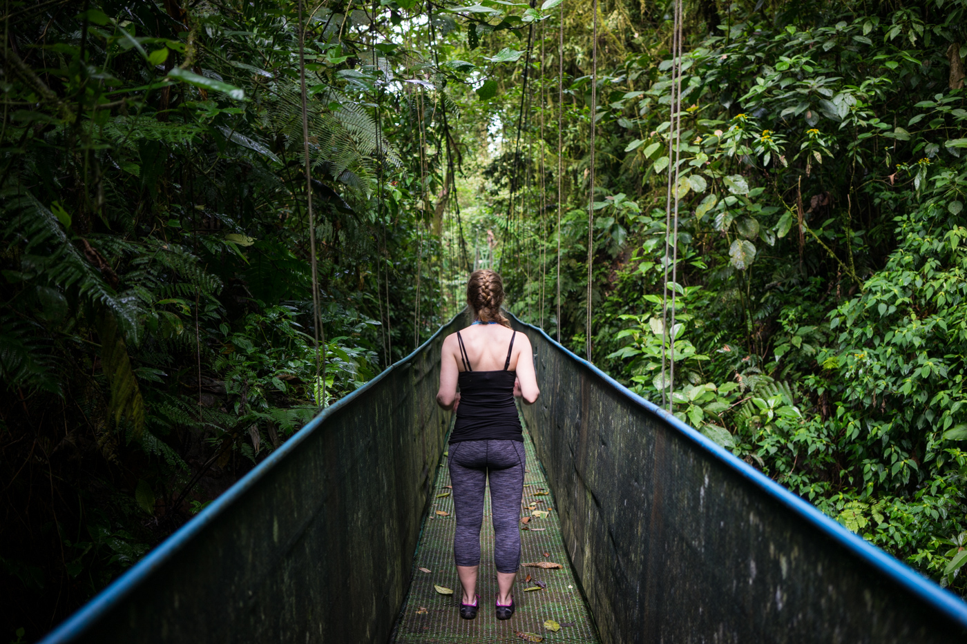Sky Walk hanging bridges with Sky Adventures Arenal, Costa Rica