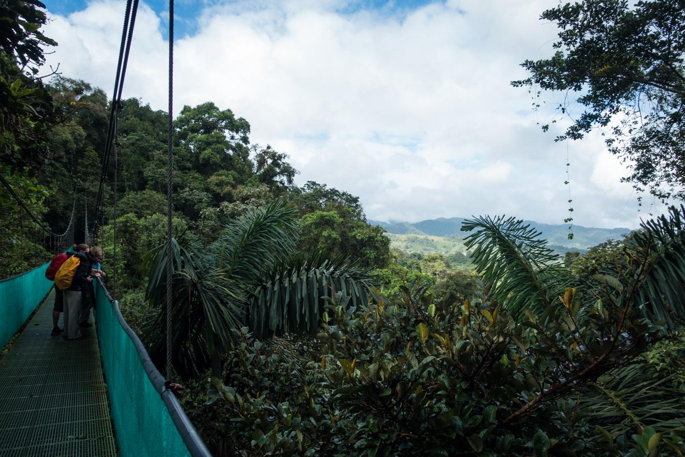 Sky Walk hanging bridges with Sky Adventures Arenal, Costa Rica