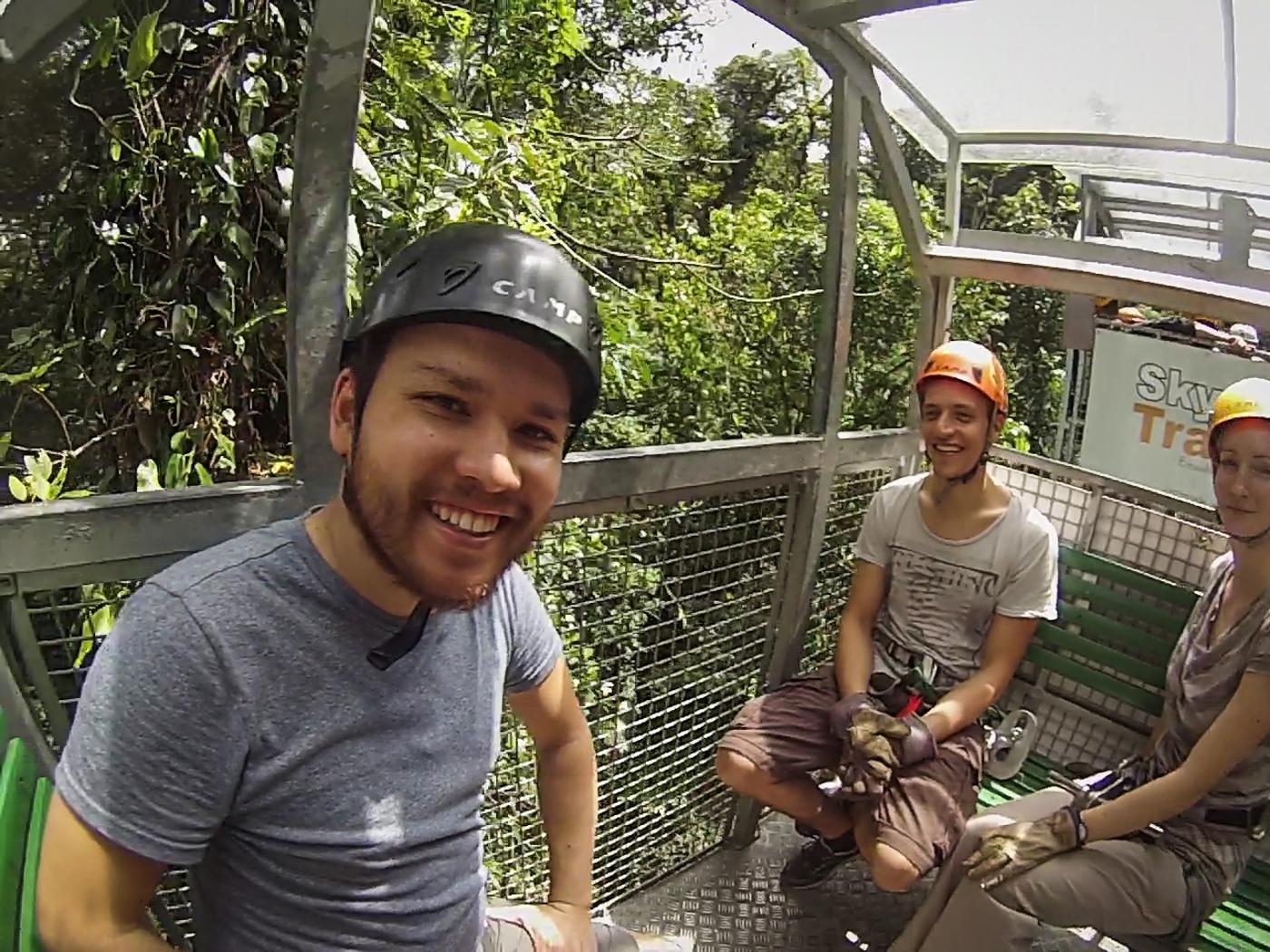 Sky Tram gondola ride Sky Adventures Arenal, Costa Rica