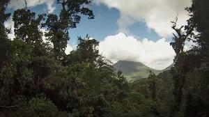 view at top of Sky Tram gondola ride Sky Adventures Arenal, Costa Rica
