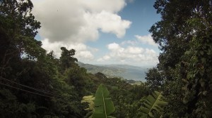 view at top of Sky Tram gondola ride Sky Adventures Arenal, Costa Rica
