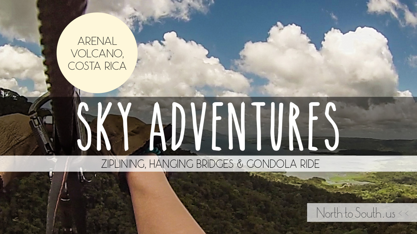Sky Adventures review and video at Arenal Volcano, Costa Rica