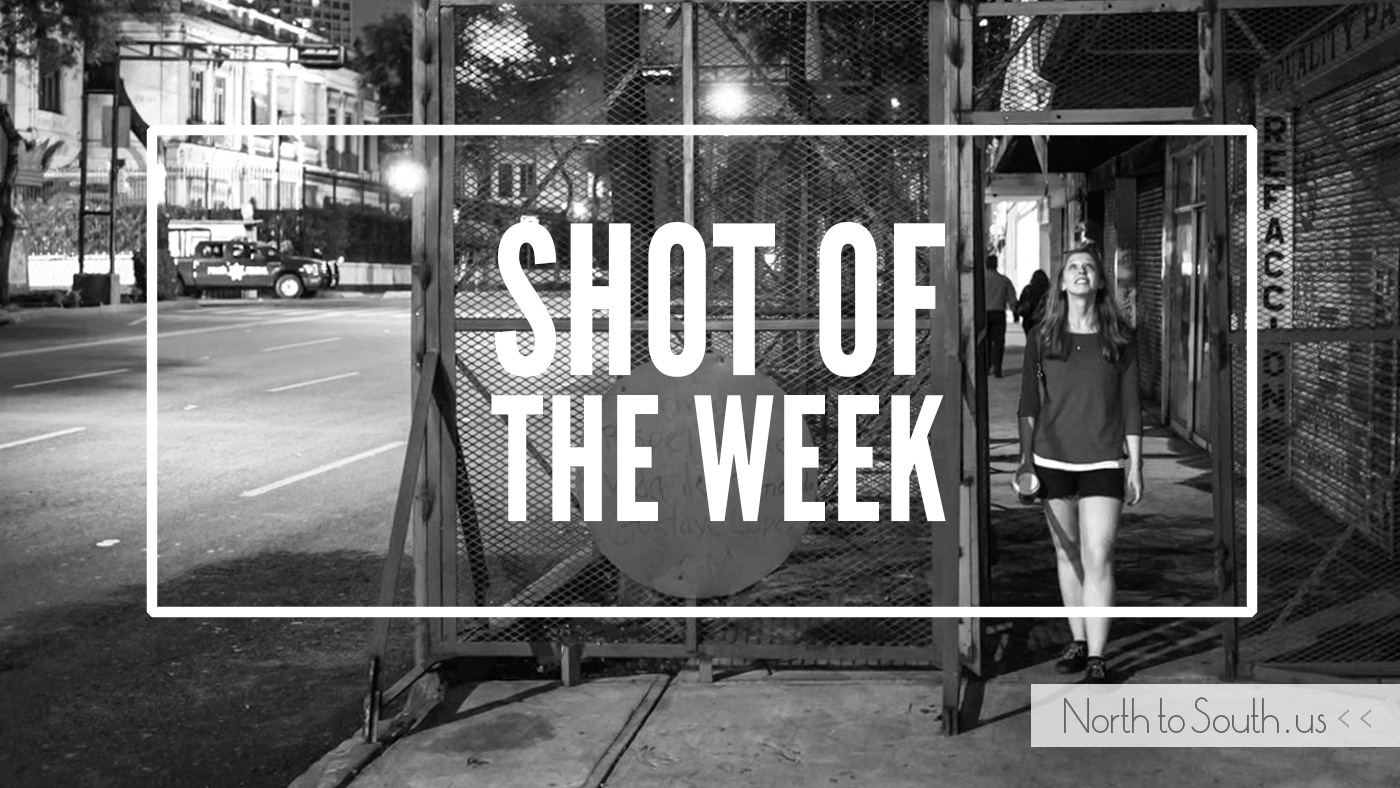 Shot of the Week: Between the Barriers (Mexico City, Mexico)