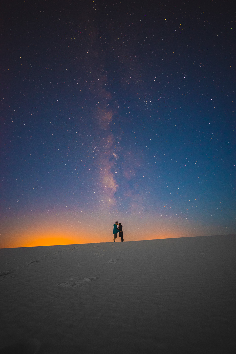 The Milky Way at White Sands National Monument
