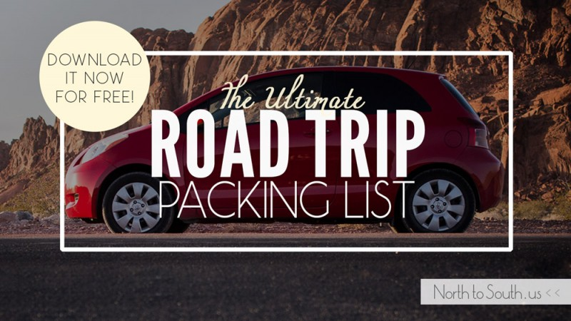North to South's Ultimate Road Trip Packing List