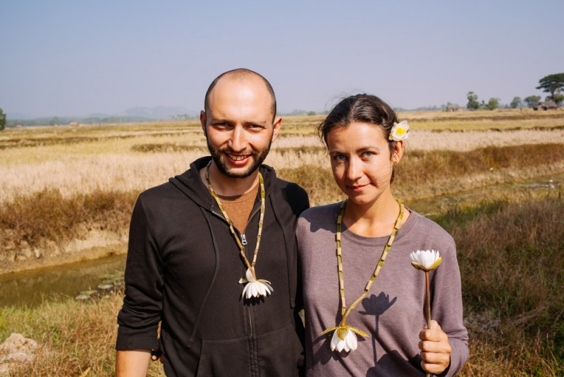 Sergey and Jenia of House to Laos