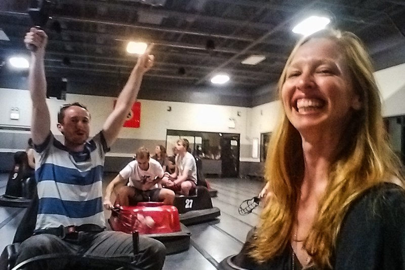 playing Whirlyball in Chicago
