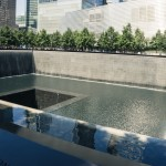 World Trade Center fountain, New York City