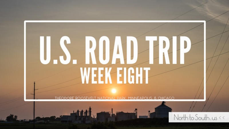 North to South U.S. road trip recap week eight