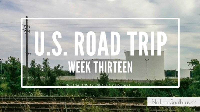 North to South U.S. road trip recap week thirteen
