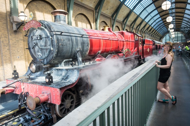 Hogwarts Express at King's Cross Station, Universal Studios Florida