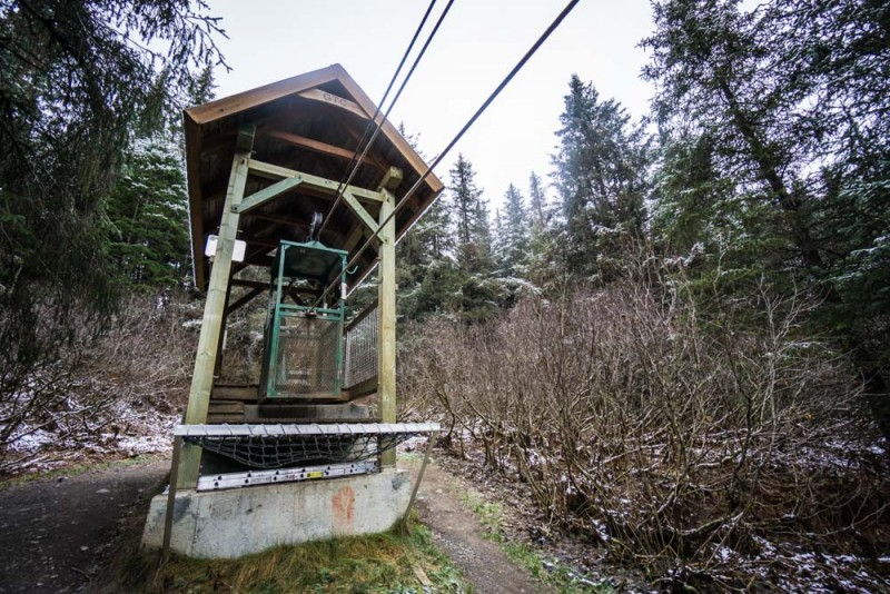 Things to Do in Alaska: Try Your Hand at the Girdwood Hand Tram