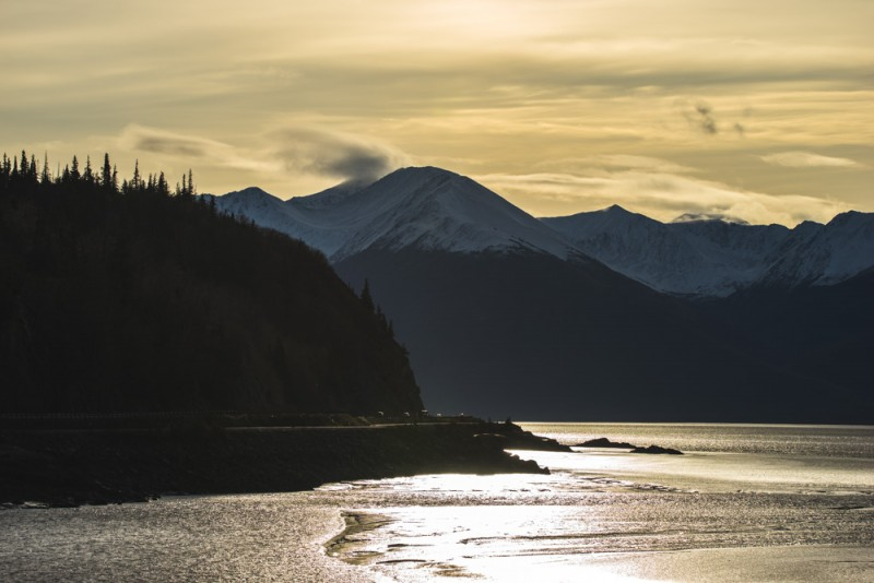 Things to Do in Alaska: Enjoy a Scenic Drive Along the Turnagain Arm on Highway 1