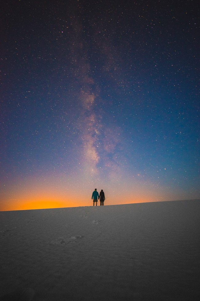 Diana Southern and Ian Norman Milky Way at White Sands National Monument, New Mexico