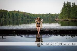 Diana Southern and Ian Norman at Adirondack Woodcraft Camps, New York