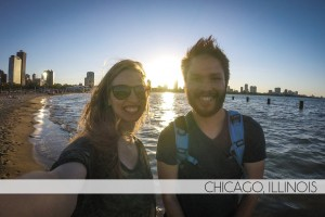 Diana Southern and Ian Norman in Chicago, Illinois